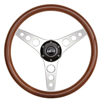 GT Performance® - GT3 Retro Gasser Wood Steering Wheel
