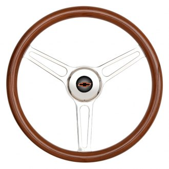 GT Performance® - GT5 Retro Style Wood Steering Wheel