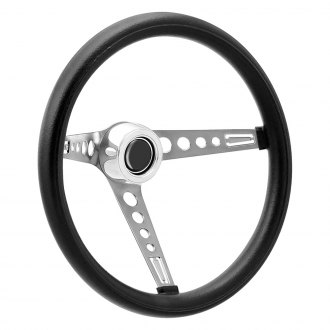 GT Performance® - GT3 Retro Mustang Style Foam Cushion Steering Wheel