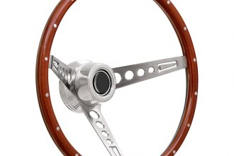 GT Performance® - GT3 Retro Mustang Style Wood Steering Wheel