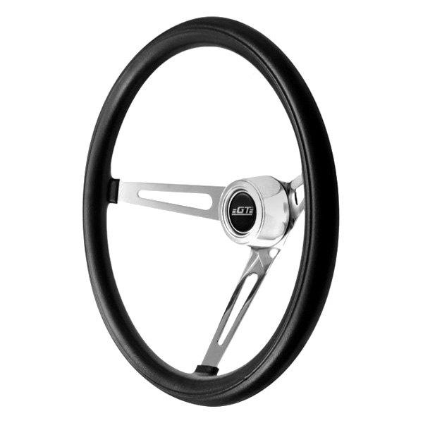 GT Performance® - 3-Spoke GT3 Classic Slot Style Foam Steering Wheel