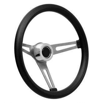 GT Performance® - GT3 Retro Slot Style Foam Cushion Steering Wheel