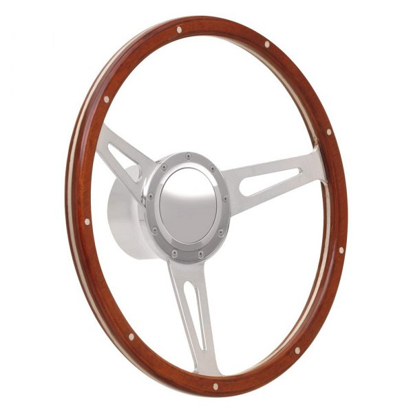 GT Performance® - GT9 Retro Cobra Style Wood Steering Wheel