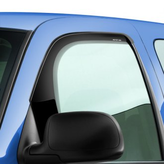 GTS® - Tape-On Bubble Ventgard™ Smoke Front Window Deflectors