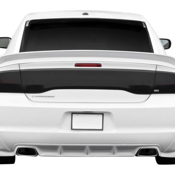 Gts Dodge Charger 2014 Blackouts Tail Light And Center Section Covers