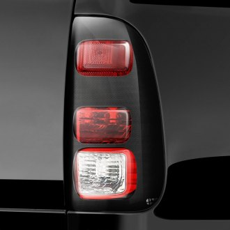 Image may not reflect your exact vehicle! GTS® - Carbon Fiber Pro-Beam™ Taillight Covers