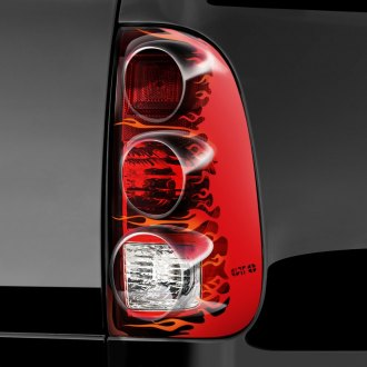 Image may not reflect your exact vehicle! GTS® - Flames Pro-Beam™ Taillight Covers