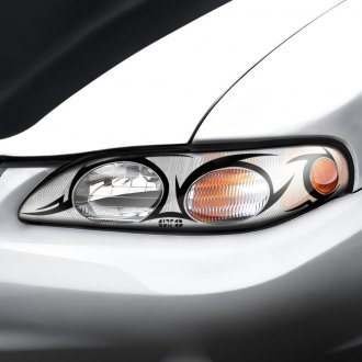 Image may not reflect your exact vehicle! GTS® - Tribal Pro-Beam™ Headlight Covers