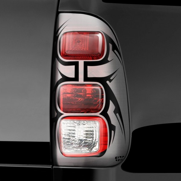 Image may not reflect your exact vehicle! GTS® - Tribal Pro-Beam™ Taillight Covers