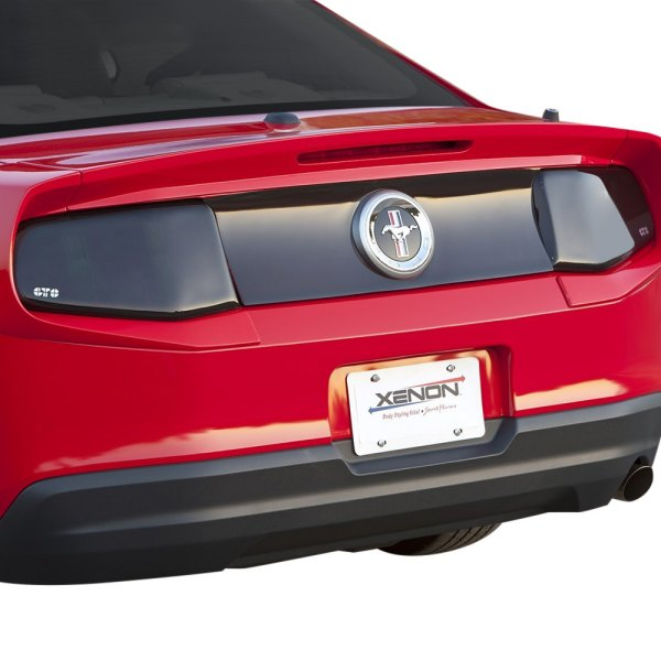 gts ford mustang 2010 2012 blackouts tail light and. Black Bedroom Furniture Sets. Home Design Ideas