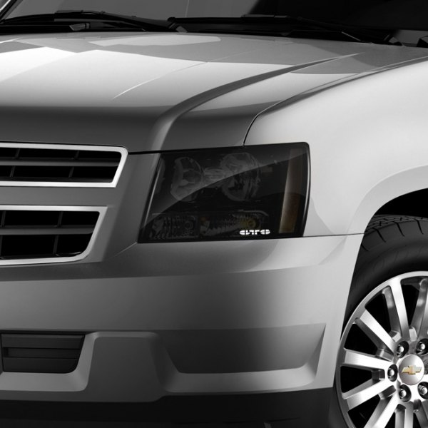 GTS® - Headlight Covers on Chevy Tahoe