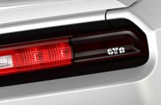 GTS® - Tail Light Covers on Dodge Challenger