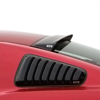 GTS® - Solarwing™ Smoke Rear Window Deflectors
