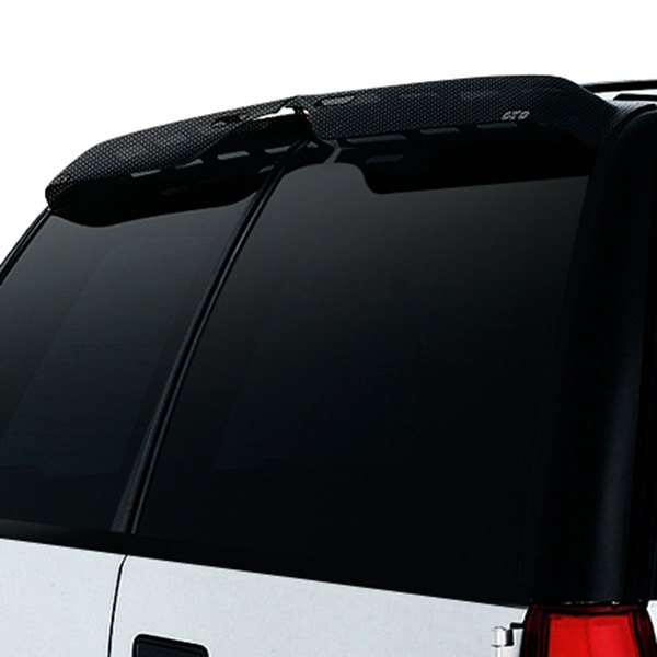 Image may not reflect your exact vehicle! GTS® - Carbon Fiber Aerowing™ Window Deflector