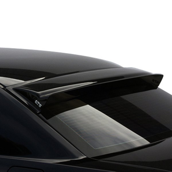 Image may not reflect your exact vehicle! GTS® - Smoke Solarwing™ Rear Window Deflector