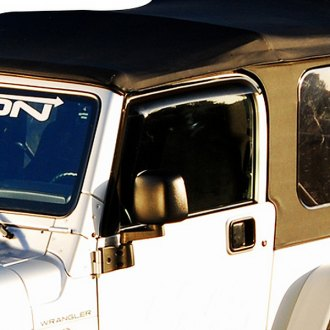 GTS® - Tape-On Ventgard™ Smoke Front Window Deflectors