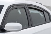 GTS® - Front and Rear Smoke Ventgard™ Snap Window Deflectors