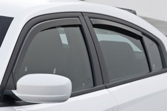 GTS® - Ventgard™ Snap Smoke Front and Rear Window Deflectors