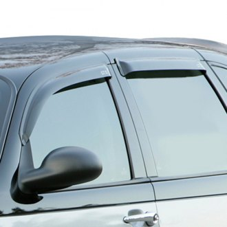 GTS® - Tape-On Ventgard™ Smoke Front and Rear Window Deflectors
