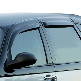 Image may not reflect your exact vehicle! GTS® - Front Smoke Ventgard™ Window Deflectors