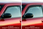 GST® - Ventgards™ Window Deflectors Comparison