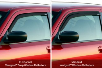 GST� - Ventgards� Window Deflectors Comparison