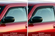 GTS® - Smoke Ventgard™ Snap Front Window Deflectors