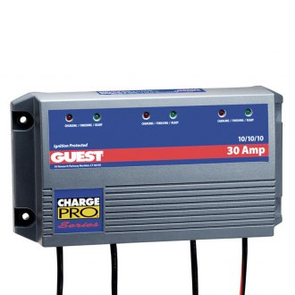 Guest® - Pro Series 3-Bank Marine Battery Charger