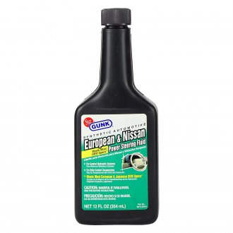 GUNK® - 12 fl. oz. European and Nissan Power Steering Fluid