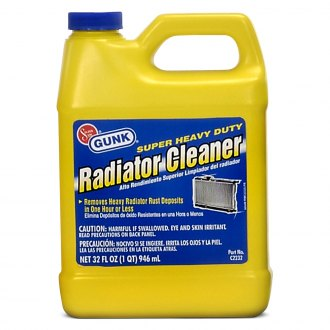 GUNK® - Super Heavy Duty Radiator Cleaner 1 Quart