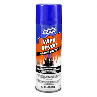 GUNK® - Heavy Duty Wire Dryer Spray 6 oz