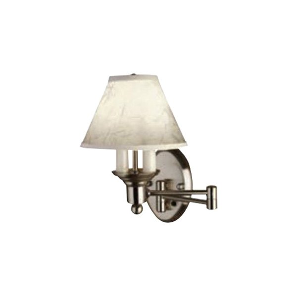 Gustafson Lighting 54M508XYZ23 - Satin Nickel Side Wall Sconce Light with Swing Arm