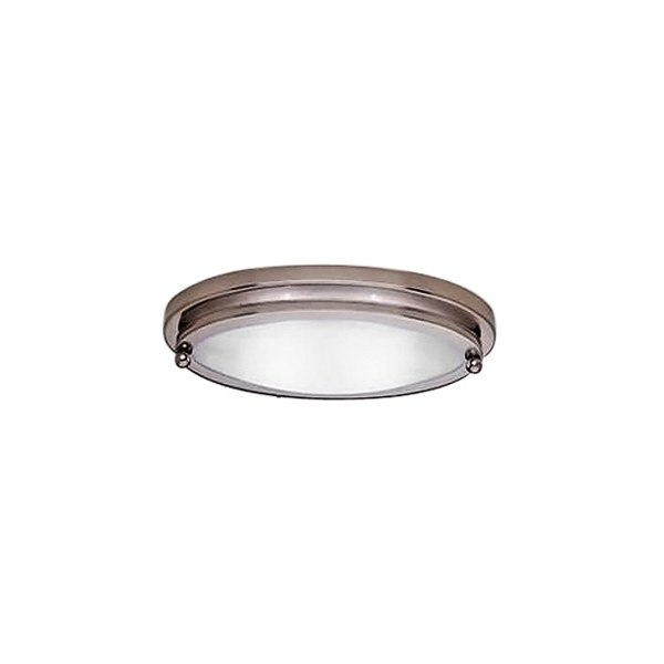 Gustafson lighting 55am558xyz1 satin nickel oval low profile gustafson lighting satin nickel oval low profile ceiling light mozeypictures Images