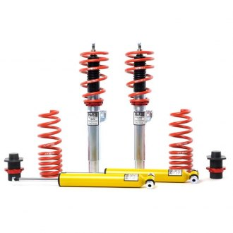 "H&R® - 1.3""-2.3"" x 1.2""-2"" Street Performance Front and Rear Lowering Coilover Kit"