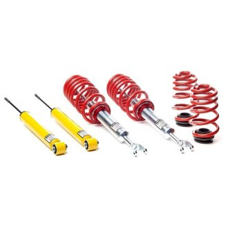 "H&R® - 1.2""-2.2"" x 0.8""-1.7"" Street Performance Front and Rear Lowering Coilover Kit"