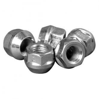 H&R® - Silver Cone Seat Rounded D26 Lug Nut