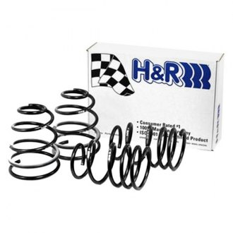 "H&R® - 1.4"" x 1.2"" Sport Front and Rear Lowering Coil Springs"