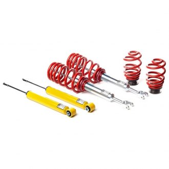"H&R® - 1.2""-2.1"" x 1""-2"" Street Performance Front and Rear Lowering Coilover Kit"