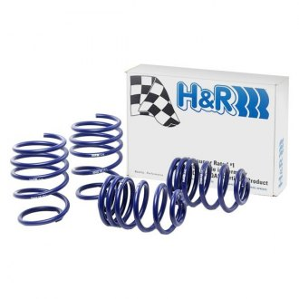 "H&R® - 0.75"" x 0.25"" Sport Front and Rear Lowering Coil Spring Kit"