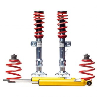 "H&R® - 1.5""-2.5"" x 1""-1.8"" Street Performance Front and Rear Lowering Coilover Kit"