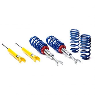 "H&R® - 0""-1.5"" x 0""-2.3"" Street Performance Front and Rear Lowering Coilover Kit"