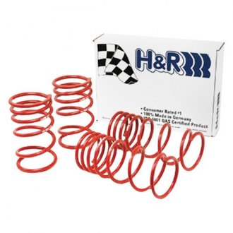 "H&R® - 1.3"" x 1.3"" Sport Front and Rear Lowering Coil Spring Kit"
