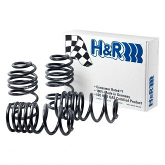 "H&R® - 1.8"" x 1.4"" Sport Front and Rear Lowering Coil Springs"
