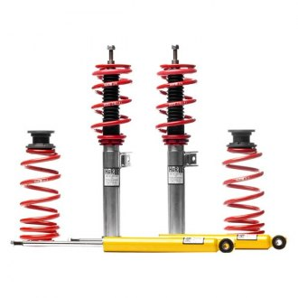 "H&R® - 1.2""-2.5"" x 1.3""-2.4"" Street Performance Front and Rear Lowering Coilover Kit"