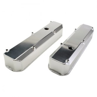 Hamburger's® - Brushed Steel Valve Covers