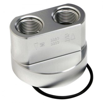 Hamburger's® - Billet Aluminum Spin-On Oil Filter Bypass Adapter