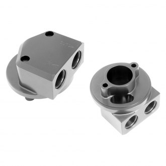 Hamburger's® - Billet Aluminum Bolt-On Oil Filter Bypass Adapter