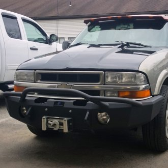 1998 Chevy S-10 Pickup Custom 4x4 Off-Road Steel Bumpers