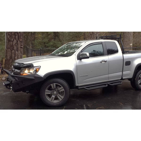 hammerhead chevy colorado 2017 full width black front winch hd bumper with pre runner guard. Black Bedroom Furniture Sets. Home Design Ideas