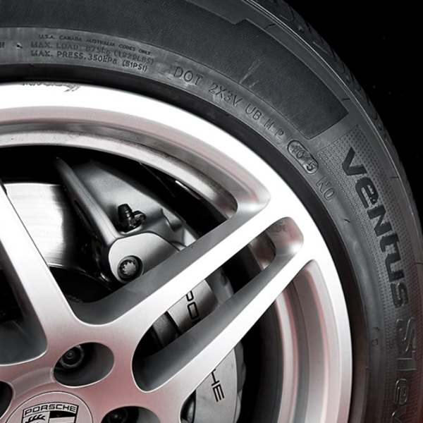 HANKOOK® - VENTUS Tires on Car